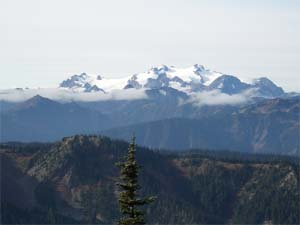 Mount Olympus from Obstruction Point