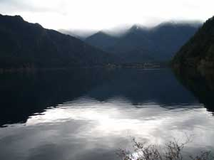 Soft Clouds at Lake Crescent