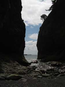 Between Two Seastacks at Rialto Beach